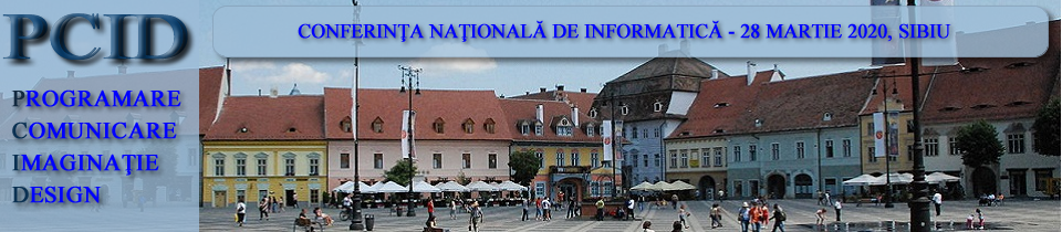 Conferinţa naţională de informatică – PCID 2020